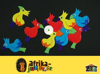 Afrika Junior: Das Lied der bunten Vögel