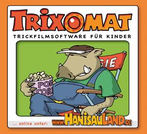 Trixomat - Trickfilmsoftware für Kinder