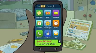Internet-ABC: Smartphone-Spiel